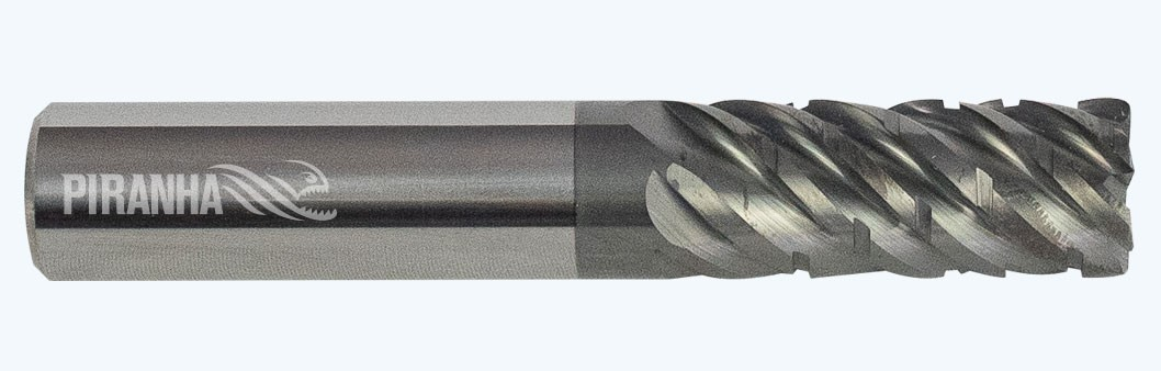6 flute regular, chip breaker for Inconel